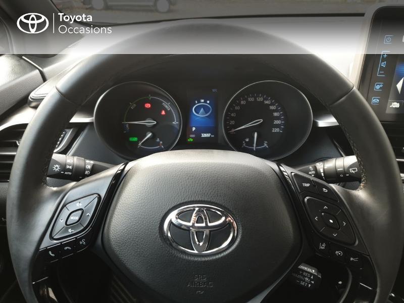 Photo 13 de l'offre de TOYOTA C-HR 122h Edition 2WD E-CVT RC18 à 21990€ chez Rizzon Auto - Toyota Guingamp