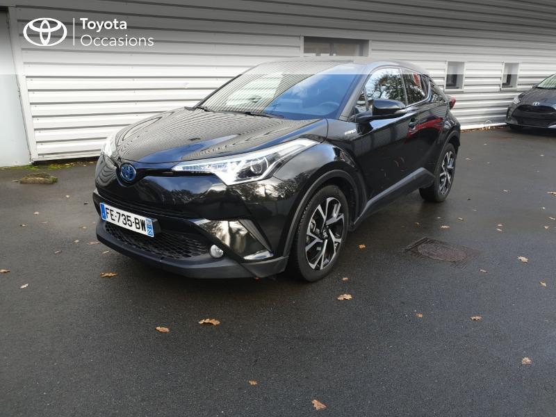 Photo 1 de l'offre de TOYOTA C-HR 122h Edition 2WD E-CVT RC18 à 21990€ chez Rizzon Auto - Toyota Guingamp