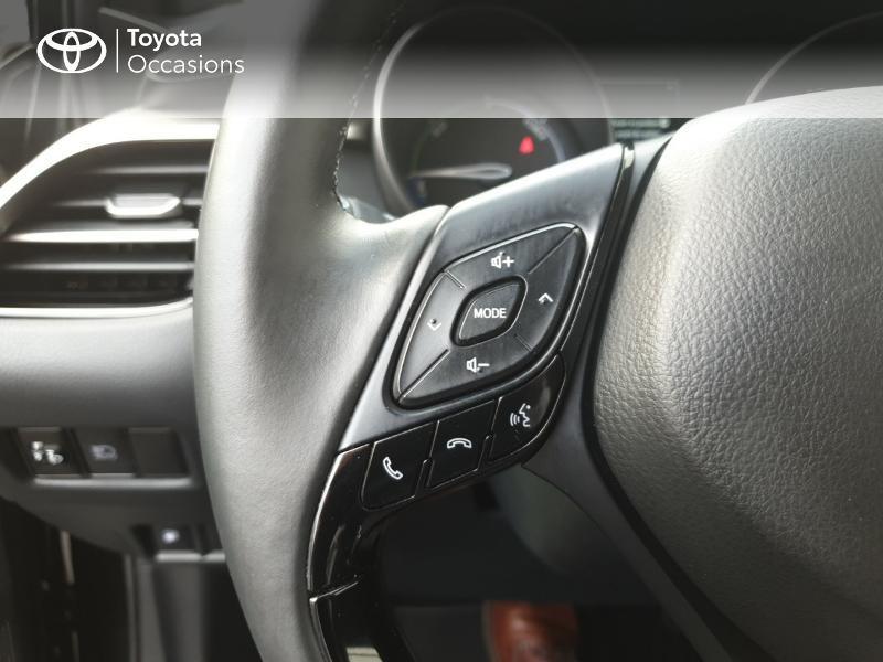 Photo 20 de l'offre de TOYOTA C-HR 122h Edition 2WD E-CVT RC18 à 21990€ chez Rizzon Auto - Toyota Guingamp