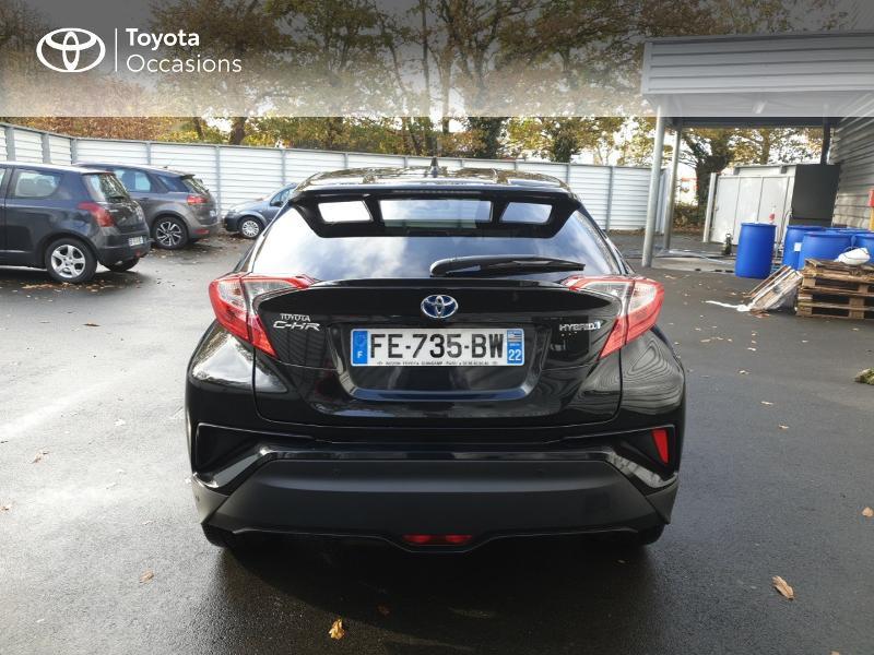 Photo 4 de l'offre de TOYOTA C-HR 122h Edition 2WD E-CVT RC18 à 21990€ chez Rizzon Auto - Toyota Guingamp