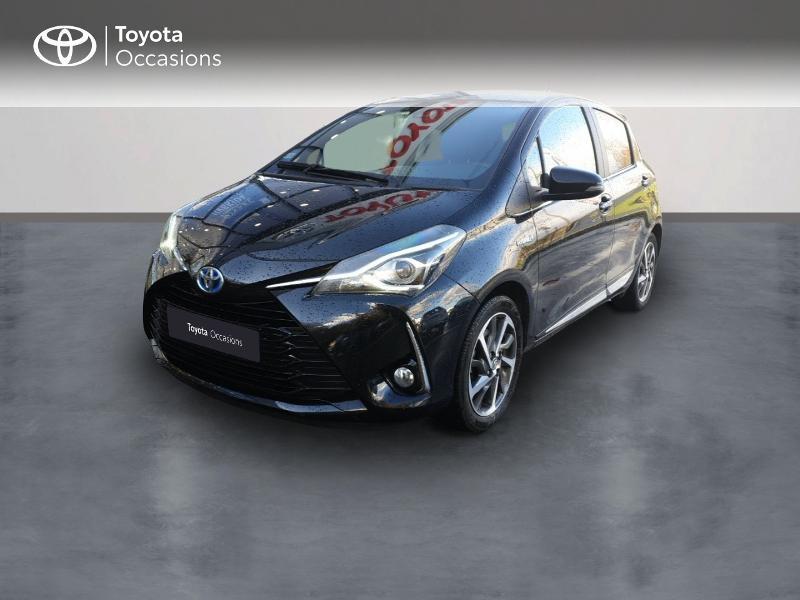 Photo 1 de l'offre de TOYOTA Yaris 100h Chic 5p à 14990€ chez Rizzon Auto - Toyota Guingamp