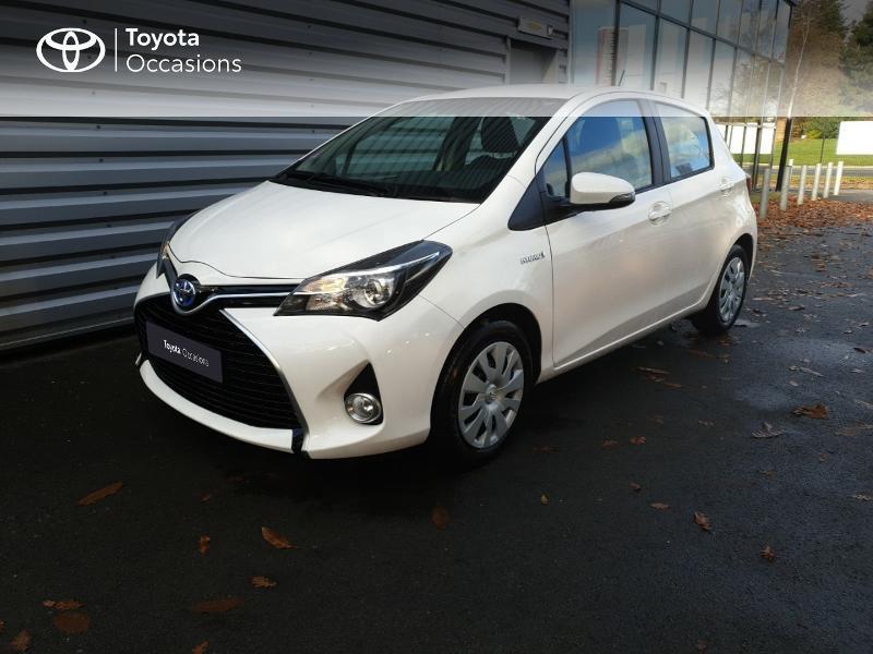 Photo 18 de l'offre de TOYOTA Yaris HSD 100h Dynamic 5p à 14980€ chez Rizzon Auto - Toyota Guingamp