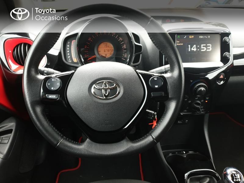 Photo 6 de l'offre de TOYOTA Aygo 1.0 VVT-i 69ch x-cite 4 5p à 8990€ chez Rizzon Auto - Toyota Guingamp