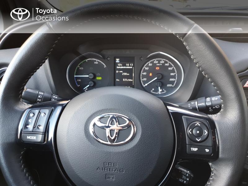 Photo 8 de l'offre de TOYOTA Yaris 100h Chic 5p à 14990€ chez Rizzon Auto - Toyota Guingamp