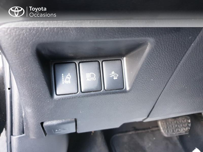 Photo 16 de l'offre de TOYOTA Yaris 100h Chic 5p à 14990€ chez Rizzon Auto - Toyota Guingamp