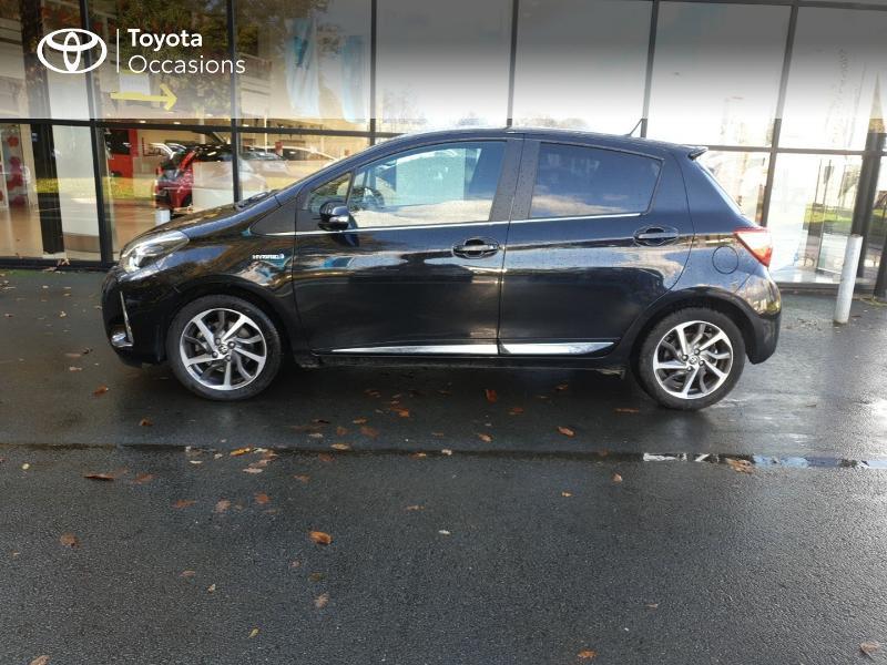 Photo 21 de l'offre de TOYOTA Yaris 100h Chic 5p à 14990€ chez Rizzon Auto - Toyota Guingamp