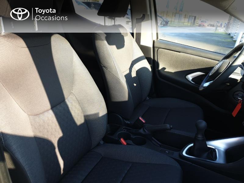 Photo 6 de l'offre de TOYOTA Yaris 70 VVT-i Design 5p à 17490€ chez Rizzon Auto - Toyota Guingamp