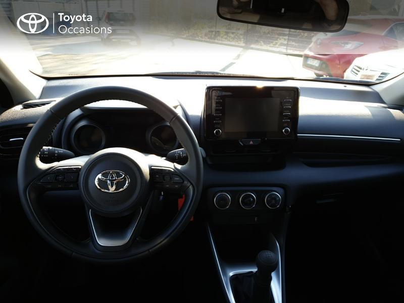 Photo 8 de l'offre de TOYOTA Yaris 70 VVT-i Design 5p à 17490€ chez Rizzon Auto - Toyota Guingamp