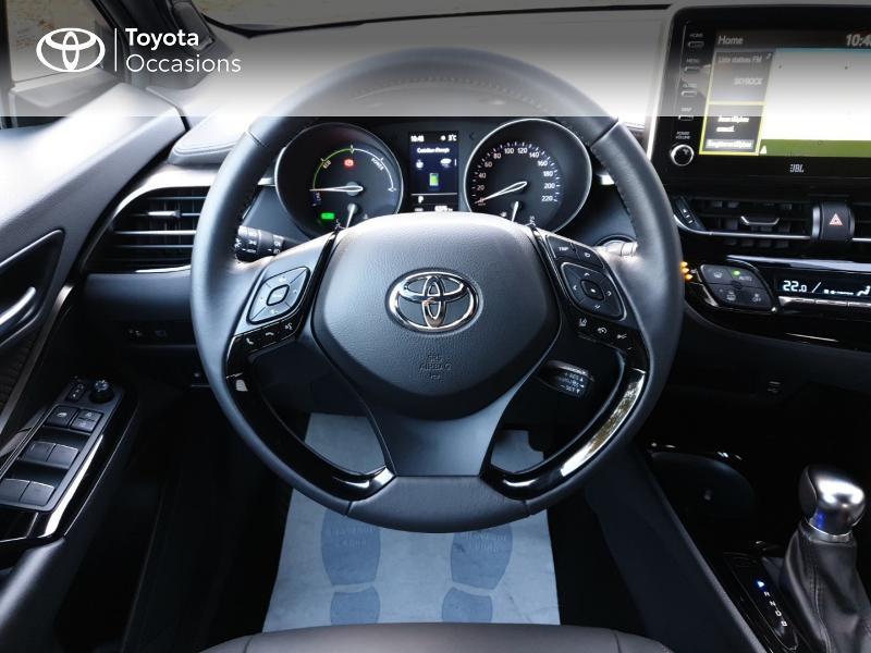 Photo 6 de l'offre de TOYOTA C-HR 122h Distinctive 2WD E-CVT MC19 à 26900€ chez Rizzon Auto - Toyota Guingamp