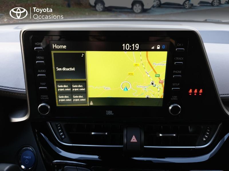 Photo 7 de l'offre de TOYOTA C-HR 122h Distinctive 2WD E-CVT MC19 à 26900€ chez Rizzon Auto - Toyota Guingamp