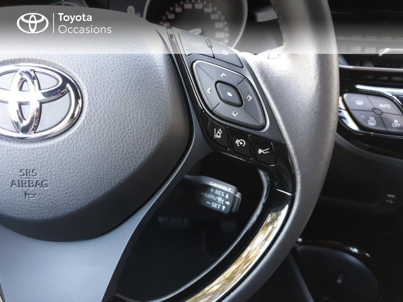 Photo 10 de l'offre de TOYOTA C-HR 122h Distinctive 2WD E-CVT MC19 à 26900€ chez Rizzon Auto - Toyota Guingamp