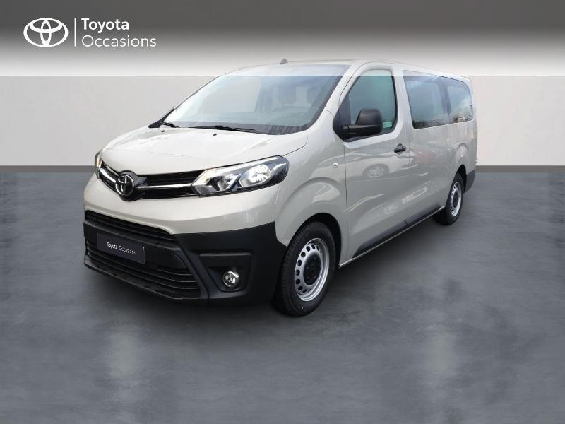 Toyota ProAce Verso Long 1.5 120 D-4D Dynamic RC18 Diesel Gris Clair Occasion à vendre