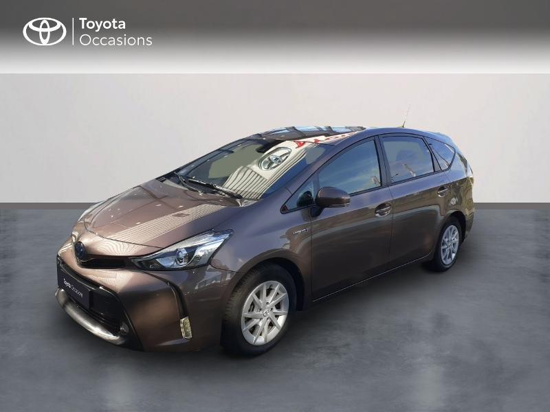 Toyota Prius+ 136h Dynamic Hybride Beige Métal Occasion à vendre