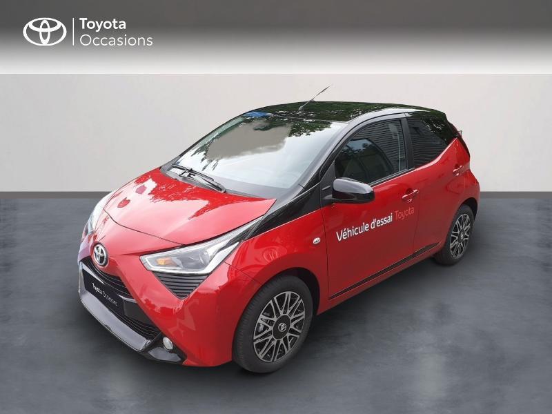 Toyota Aygo 1.0 VVT-i 72ch x-clusiv zen série 5p MY20 Essence Rouge Occasion à vendre