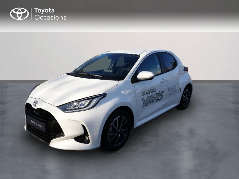 Toyota Yaris 70 VVT-i Design 5p Essence Blanc Occasion à vendre