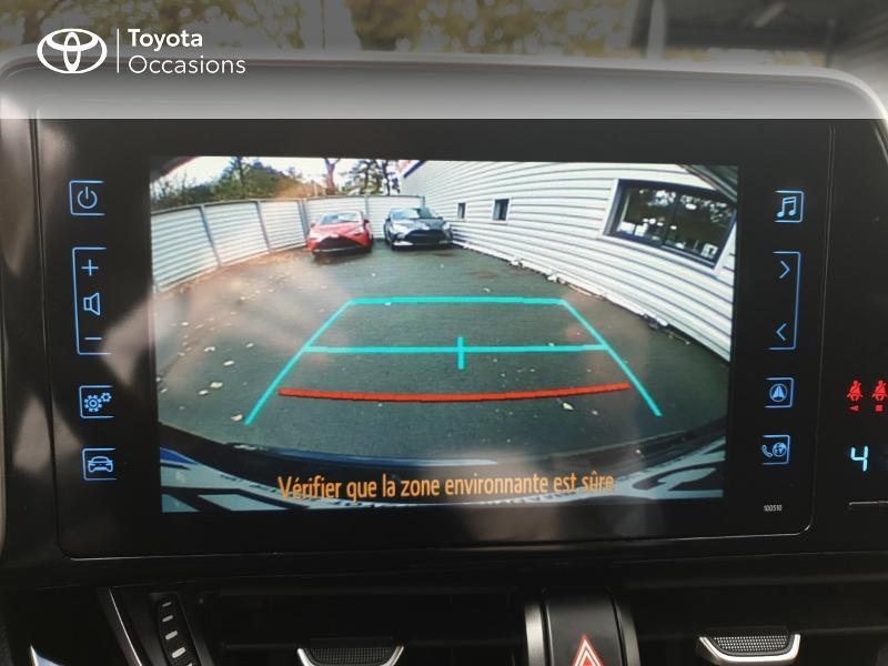 Photo 18 de l'offre de TOYOTA C-HR 122h Edition 2WD E-CVT RC18 à 21480€ chez Rizzon Auto - Toyota Guingamp