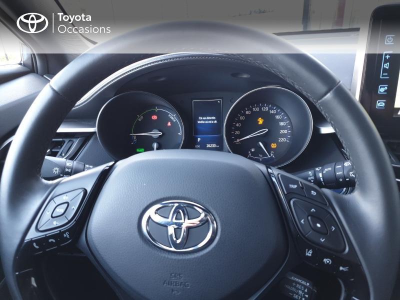 Photo 8 de l'offre de TOYOTA C-HR 122h Edition 2WD E-CVT RC18 à 21490€ chez Rizzon Auto - Toyota Guingamp