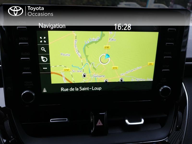 Photo 7 de l'offre de TOYOTA Corolla 122h Design à 22490€ chez Rizzon Auto - Toyota Guingamp