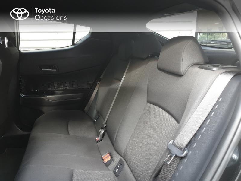 Photo 7 de l'offre de TOYOTA C-HR 122h Edition 2WD E-CVT RC18 à 21480€ chez Rizzon Auto - Toyota Guingamp