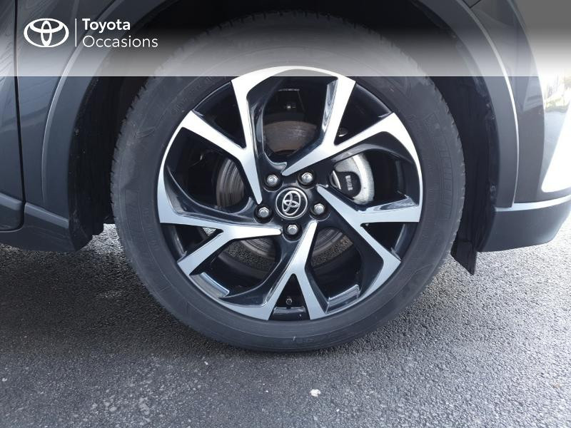 Photo 4 de l'offre de TOYOTA C-HR 122h Edition 2WD E-CVT RC18 à 21490€ chez Rizzon Auto - Toyota Guingamp