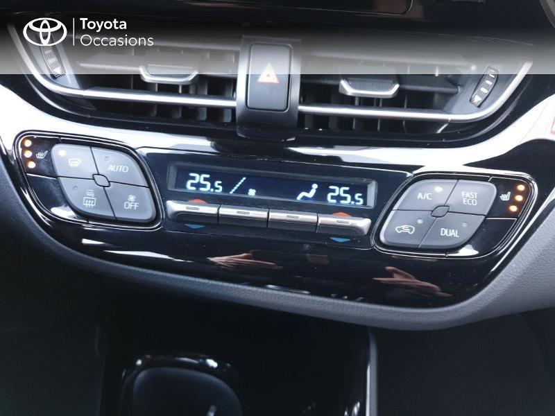Photo 11 de l'offre de TOYOTA C-HR 122h Edition 2WD E-CVT RC18 à 21490€ chez Rizzon Auto - Toyota Guingamp