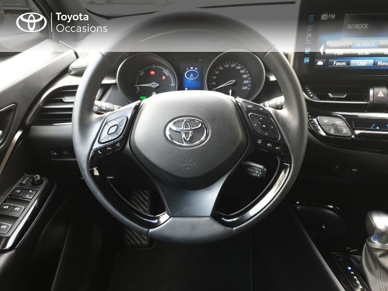 Photo 9 de l'offre de TOYOTA C-HR 122h Edition 2WD E-CVT RC18 à 21480€ chez Rizzon Auto - Toyota Guingamp