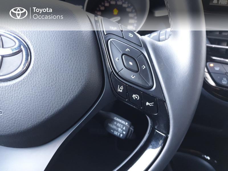 Photo 10 de l'offre de TOYOTA C-HR 122h Edition 2WD E-CVT RC18 à 21490€ chez Rizzon Auto - Toyota Guingamp