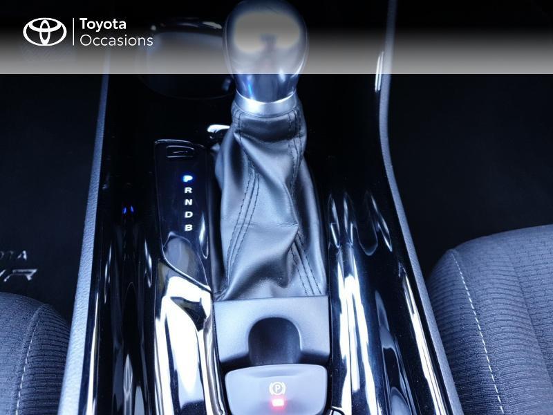 Photo 9 de l'offre de TOYOTA C-HR 122h Edition 2WD E-CVT RC18 à 21490€ chez Rizzon Auto - Toyota Guingamp