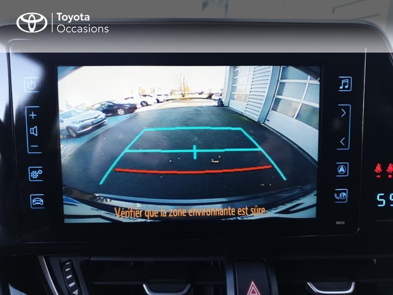 Photo 18 de l'offre de TOYOTA C-HR 122h Edition 2WD E-CVT RC18 à 21490€ chez Rizzon Auto - Toyota Guingamp