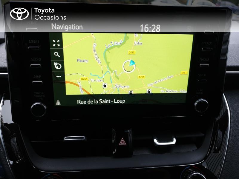 Photo 9 de l'offre de TOYOTA Corolla 122h Design à 22490€ chez Rizzon Auto - Toyota Guingamp