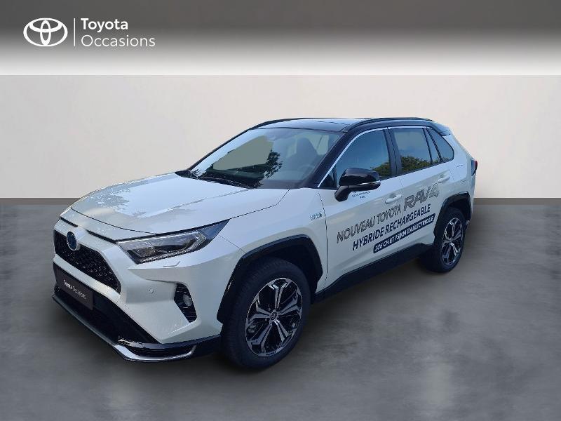 Toyota RAV4 Hybride Rechargeable 306ch Collection AWD Hybride Blanc Métal Occasion à vendre