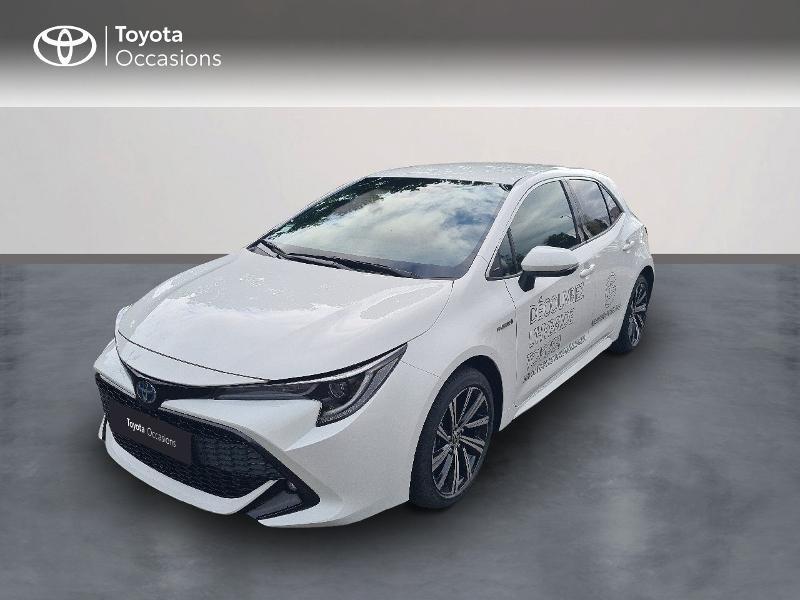 Toyota Corolla 122h Design MY21 Hybride Blanc Occasion à vendre