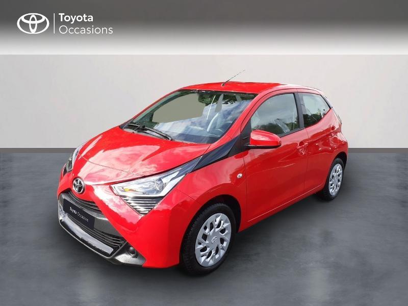 Toyota Aygo 1.0 VVT-i 72ch x-play 5p MY20 Essence Rouge Occasion à vendre