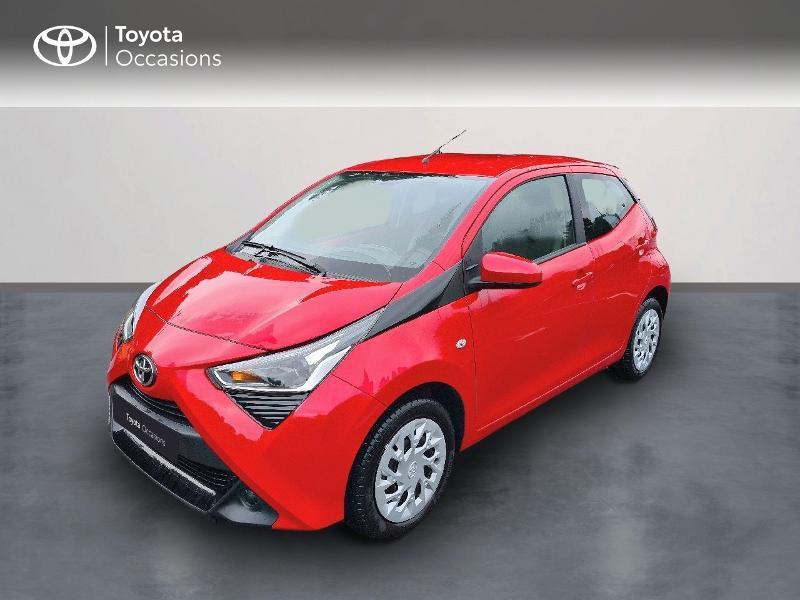 Toyota Aygo 1.0 VVT-i 72ch x-play 5p MY20 Essence Rouge Métal Occasion à vendre