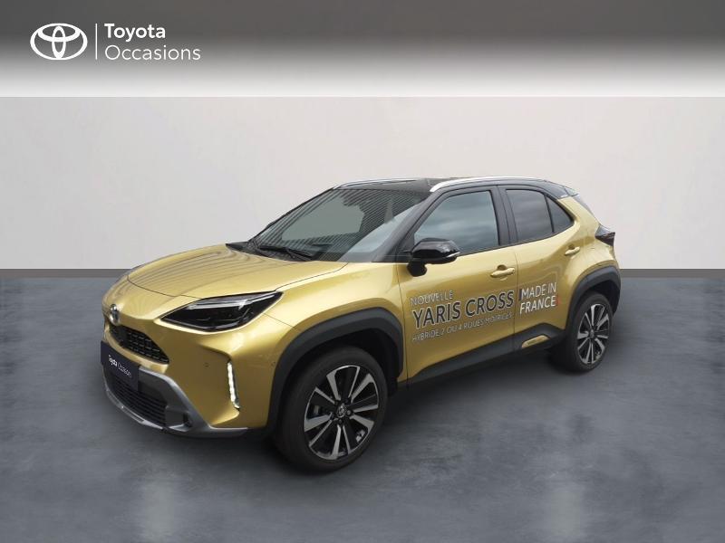 Toyota Yaris Cross 116h Première AWD-i Hybride Jaune Métal Occasion à vendre