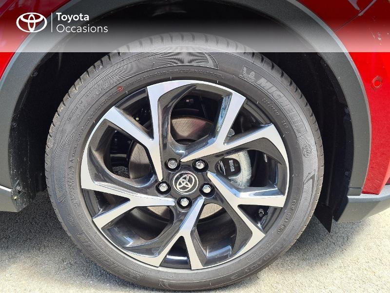 Photo 16 de l'offre de TOYOTA C-HR 184h Collection 2WD E-CVT MY20 à 33490€ chez Rizzon Auto - Toyota Guingamp