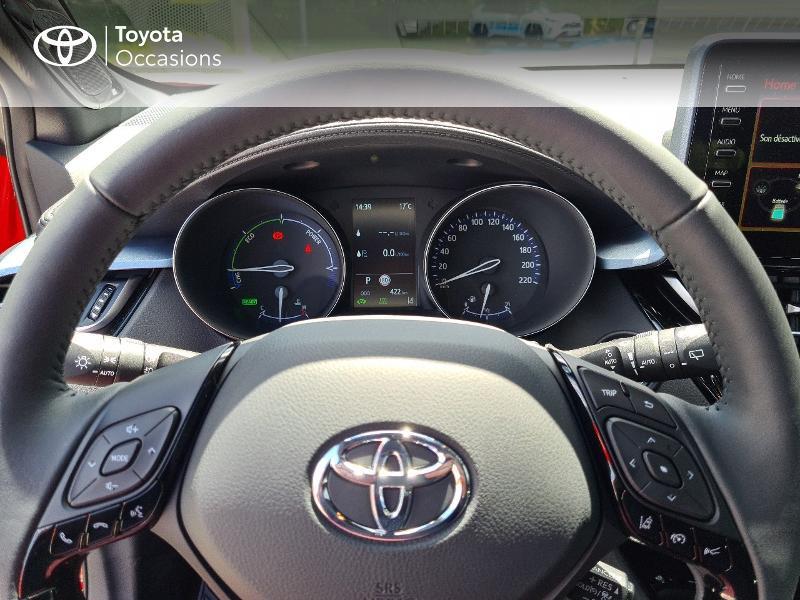 Photo 13 de l'offre de TOYOTA C-HR 184h Collection 2WD E-CVT MY20 à 33490€ chez Rizzon Auto - Toyota Guingamp