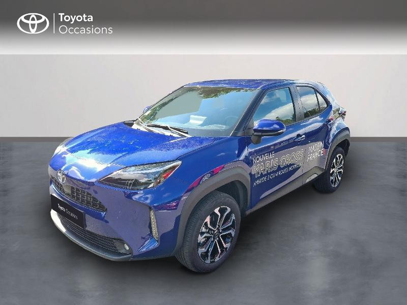 Toyota Yaris Cross 116h Design Hybride Bleu Foncé Métal Occasion à vendre