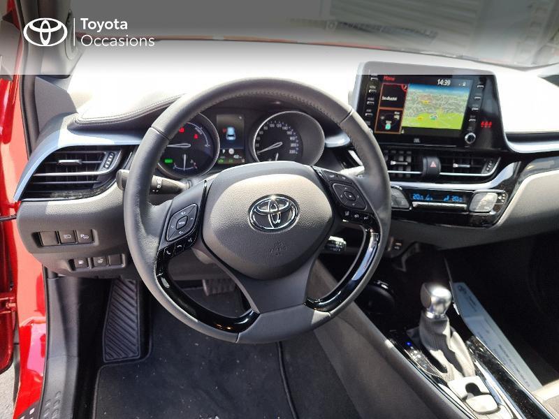 Photo 9 de l'offre de TOYOTA C-HR 184h Collection 2WD E-CVT MY20 à 33490€ chez Rizzon Auto - Toyota Guingamp