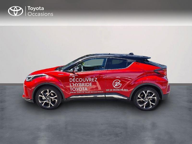 Photo 3 de l'offre de TOYOTA C-HR 184h Collection 2WD E-CVT MY20 à 33490€ chez Rizzon Auto - Toyota Guingamp