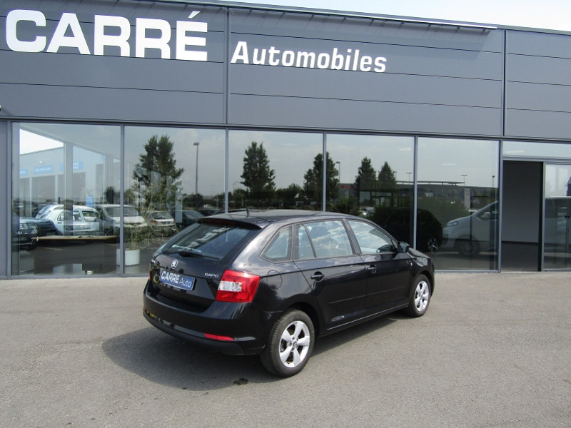 Photo 7 de l'offre de SKODA RAPID 1.6 TDI 90CH CR FAP GREENTEC ACTIVE / RAPID I / PH1 à 9890€ chez Carre automobiles