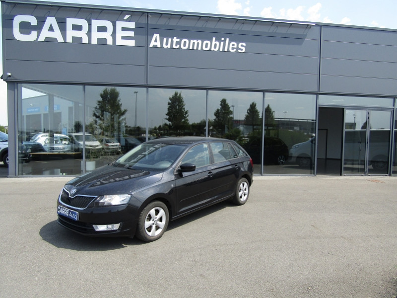 Photo 1 de l'offre de SKODA RAPID 1.6 TDI 90CH CR FAP GREENTEC ACTIVE / RAPID I / PH1 à 9890€ chez Carre automobiles