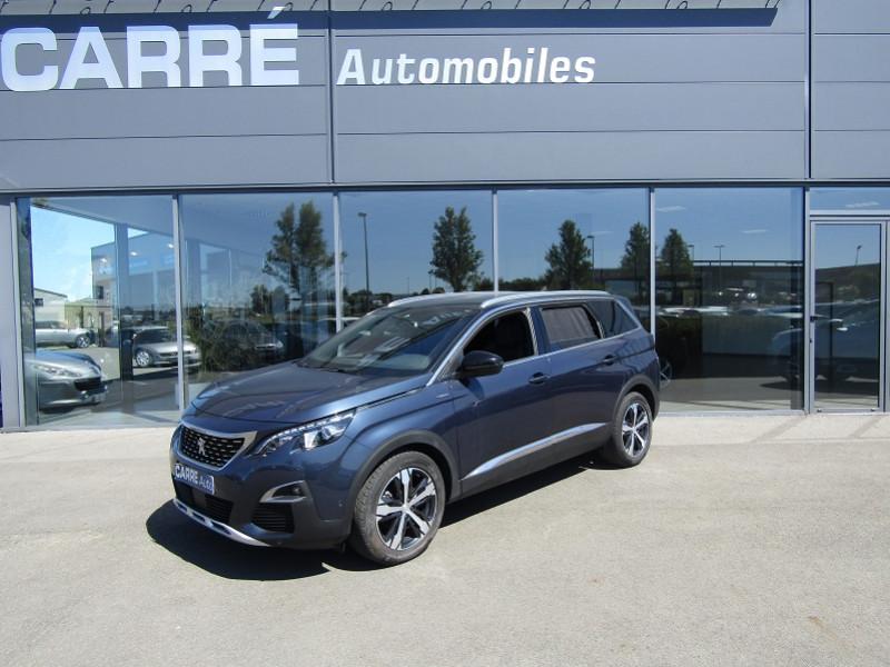 Peugeot 5008 1.5 BLUEHDI 130CH E6.C GT LINE  S&S 6CV Diesel BLEU BOURRASQUE Occasion à vendre