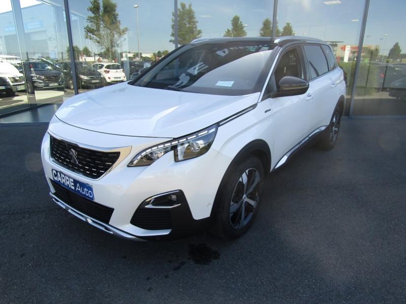 Photo 2 de l'offre de PEUGEOT 5008 1.5 BLUEHDI 130CH E6.C GT LINE  S&S 6CV à 33690€ chez Carre automobiles