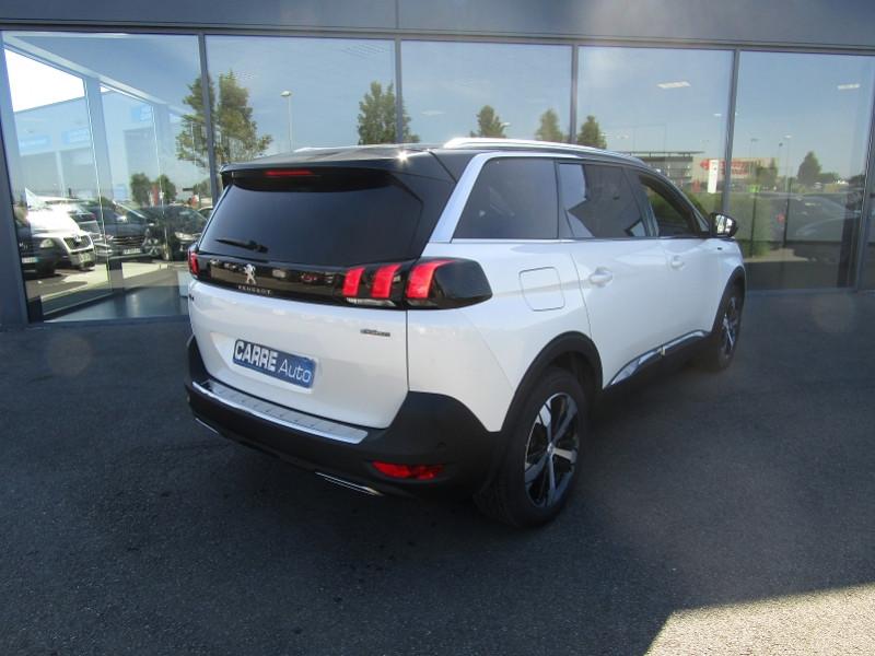 Photo 7 de l'offre de PEUGEOT 5008 1.5 BLUEHDI 130CH E6.C GT LINE  S&S 6CV à 33690€ chez Carre automobiles