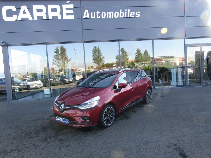 Renault CLIO IV ESTATE 1.5 DCI 110CH ENERGY INTENS Diesel ROUGE  Occasion à vendre
