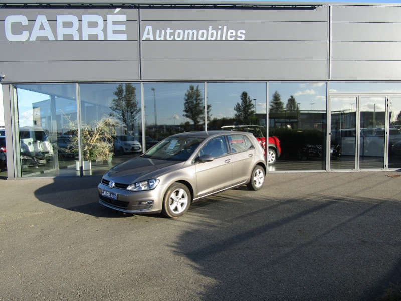 Volkswagen GOLF VII 1.6 TDI 110CH BLUEMOTION FAP CONFORTLINE BUSINESS 5P Diesel GRIS Occasion à vendre