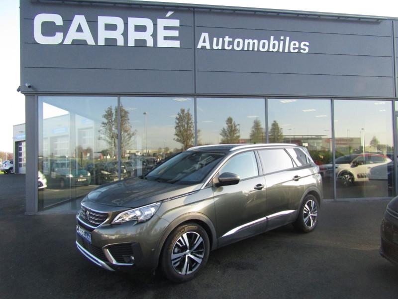Peugeot 5008 1.5 BLUEHDI 130CH E6.C ALLURE S&S EAT8 Diesel GRIS AMAZONITE Occasion à vendre