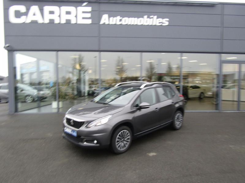 Peugeot 2008 1.2 PURETECH 110 CH S&S ACTIVE Essence GRIS PLATINIUM Occasion à vendre