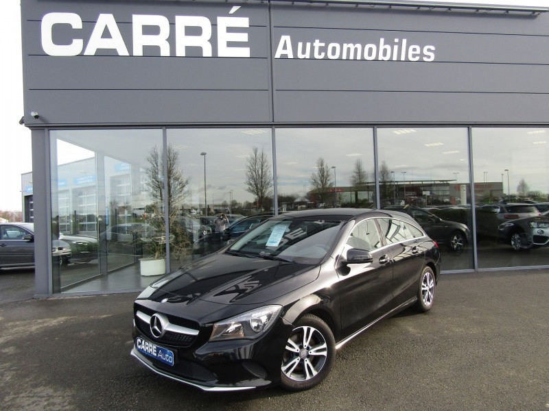 Mercedes-Benz CLA SHOOTING BRAKE 180 D BUSINESS Diesel NOIR Occasion à vendre